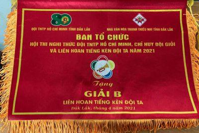 Hoạt động chào mừng kỉ niệm 80 ngày thành lập Đội TNTP Hồ Chí Minh