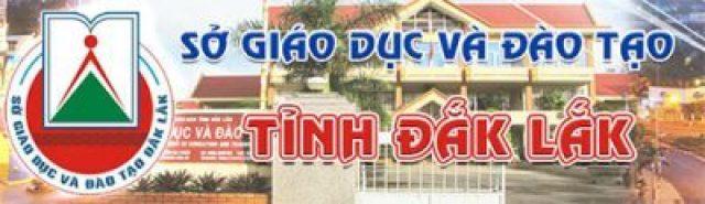 Sở Giáo dục & Đào tạo Đắk Lắk
